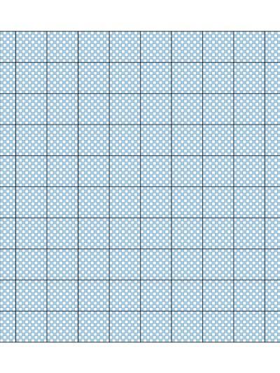 Metrul patrat - caroiaj cm