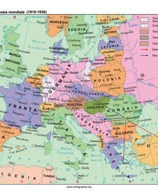 Europa intre cele doua razboaie mondiale (1919-1938)