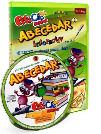 ABECEDAR INTERACTIV - Lectii multimedia pentru clasa I - partea II