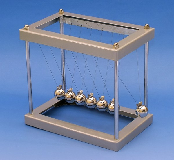 Dispozitiv pentru demonstrarea ciocnirilor elastice 3