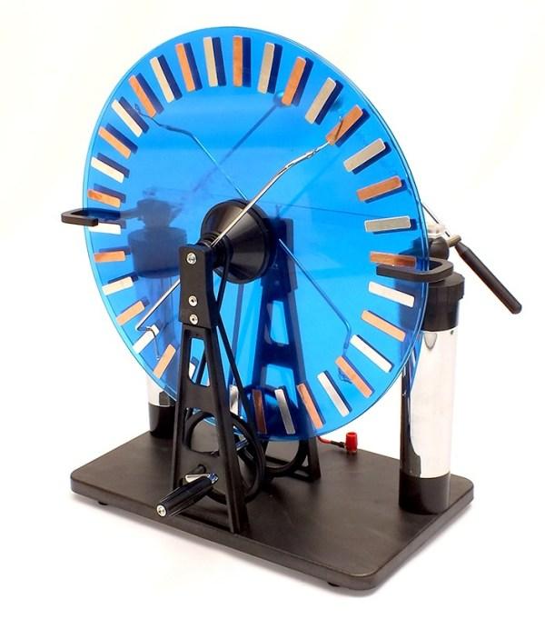 Masina electrostatica Wimshurst 4