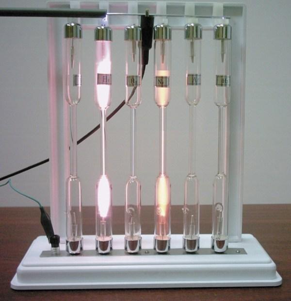 Tuburi pentru studiul spectrelor 3