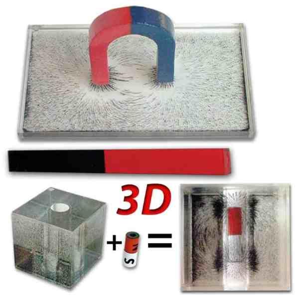 Set dispozitive pentru spectrul magnetic in plan si tridimensional 13