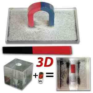 Set dispozitive pentru spectrul magnetic in plan si tridimensional 23
