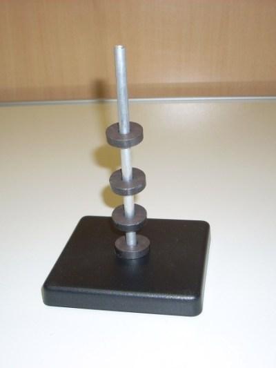 Set de inele magnetice pe stativ