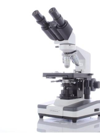 Microscop binocular de laborator