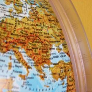 Glob geografic pamantesc iluminat 27