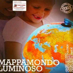 Glob geografic pamantesc iluminat 16