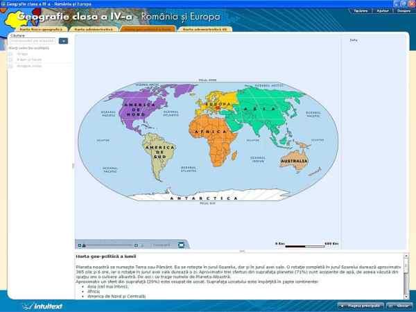 Geografie clasa a IV-a - Romania si Europa 3