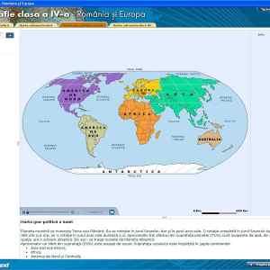 Geografie clasa a IV-a - Romania si Europa 7