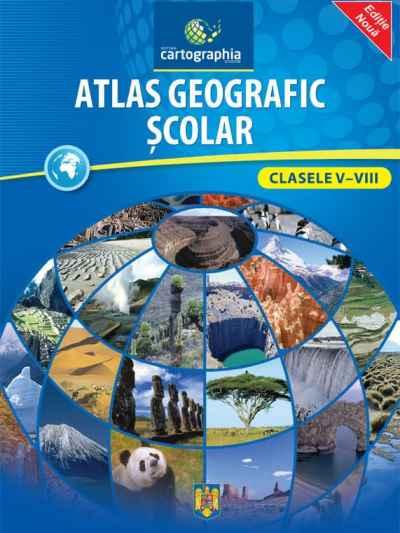 Atlas geografic scolar clasele 5-8