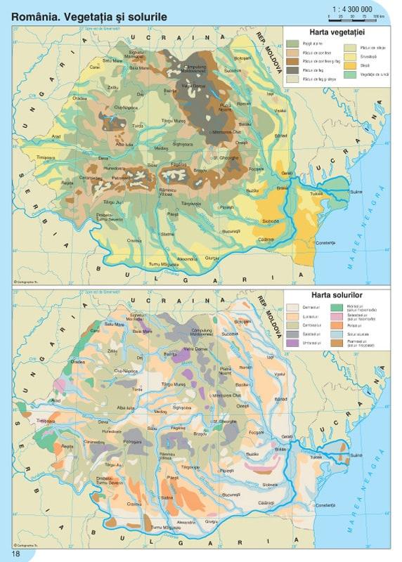 Atlas geografic scolar clasele 5-8 5