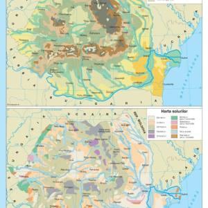 Atlas geografic scolar clasele 5-8 10