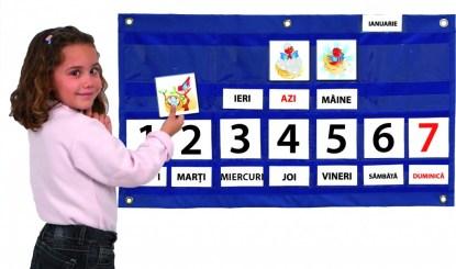 Calendarul saptamanal