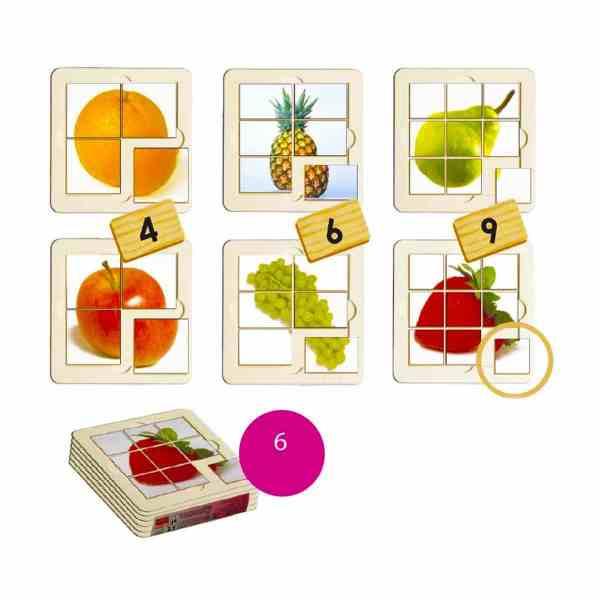 Fructe - puzzle 3