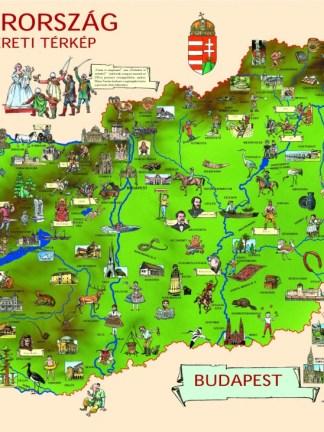 Magyarország honismereti térképe