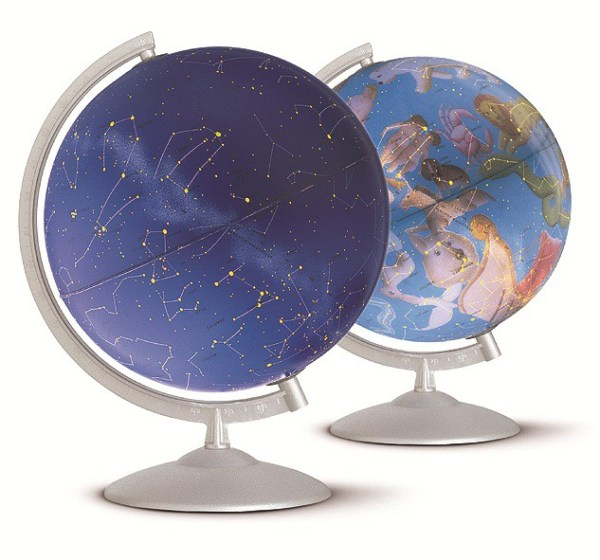 Glob geografic pamantesc iluminat Stelare Perla 4