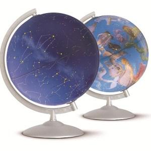 Glob geografic pamantesc iluminat Stelare Perla 7