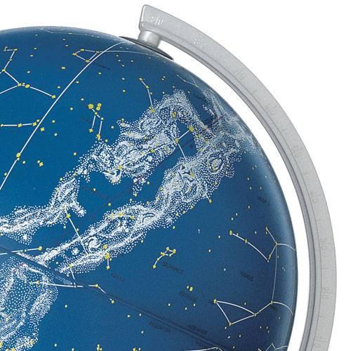 Glob geografic pamantesc iluminat Stelare Perla 6
