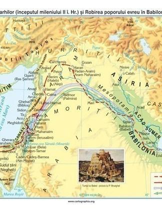 Perioada patriarhilor (inceputul mileniului II i. Hr.) si Robirea poporului evreu in Babilon (sec. VI i. Hr.)