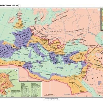 Imperiul roman (secolul I i.Hr.- II d.Hr.)
