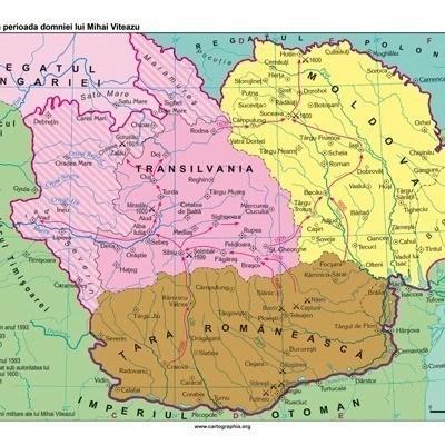 Tarile Romane, in timpul domniei lui Mihai Viteazu