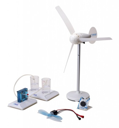 Set experimental transformarea energiei eoliene in hidrogen