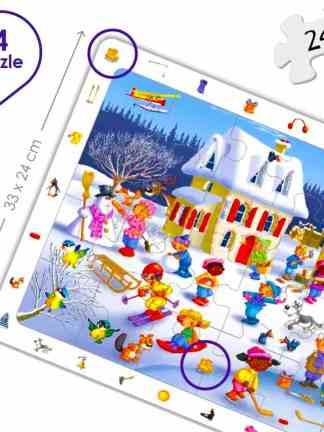 Set puzzle observare - anotimpuri