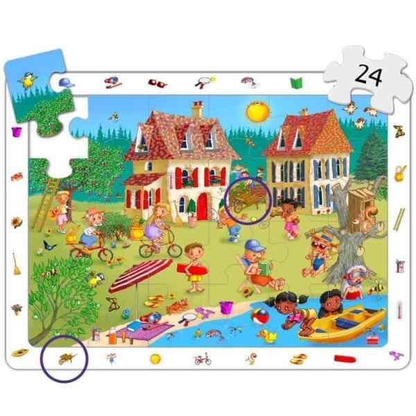 Set puzzle observare - anotimpuri 6