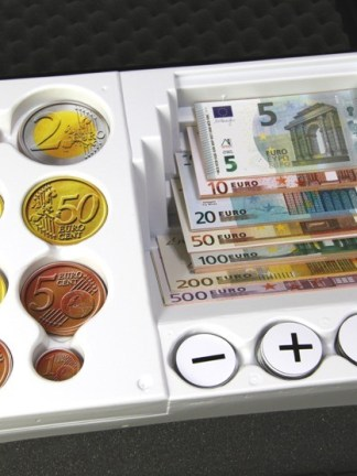 Set EURO bancnote, monede - magnetice