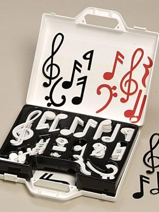 Note muzicale magnetice