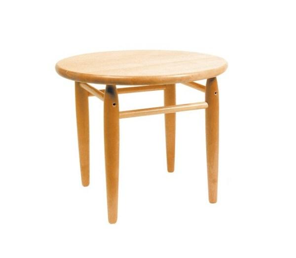 Masuta din lemn rotunda 3
