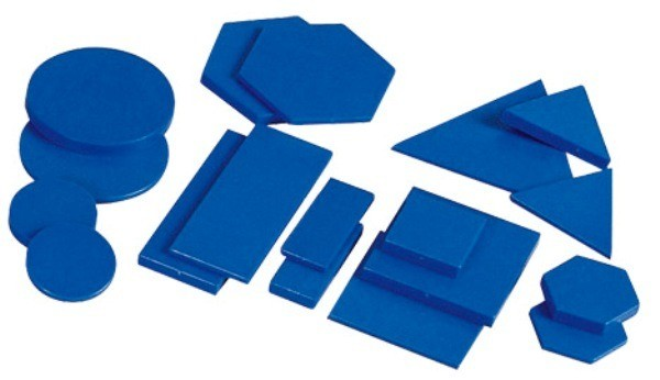 Forme geometrice din plastic 6