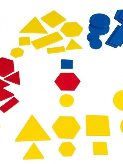 Forme geometrice din plastic