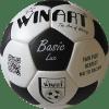 Minge fotbal din piele naturala Basic Lux 2