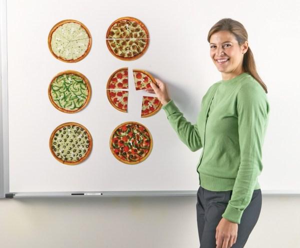 Pizza fractiilor cu magneti 4