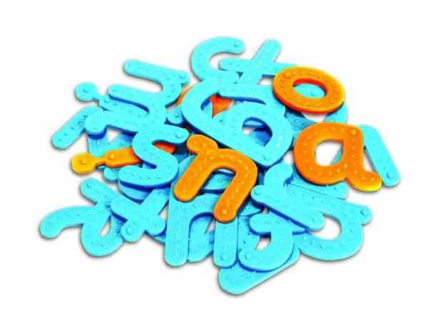 Set tactil - Litere 4