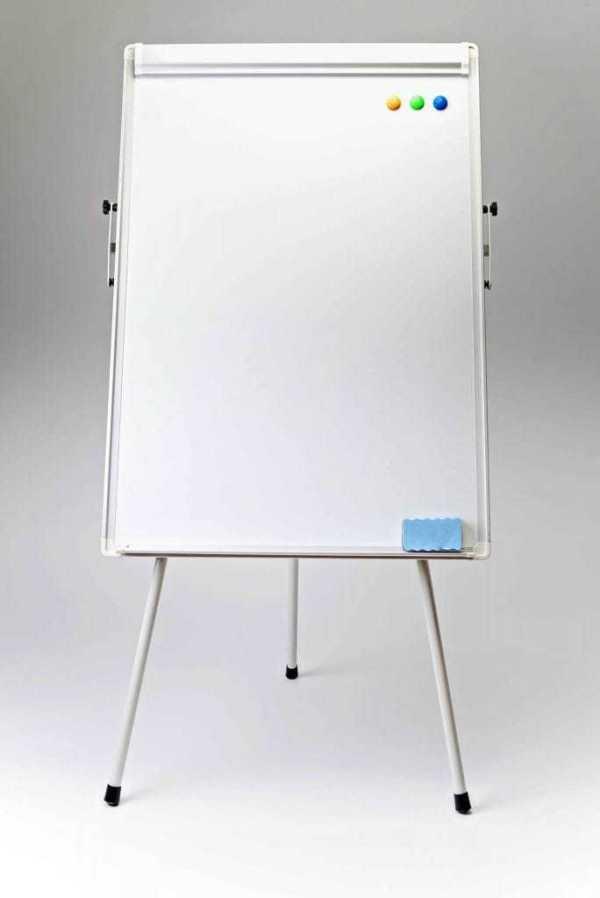Flipchart whiteboard magnetic 4