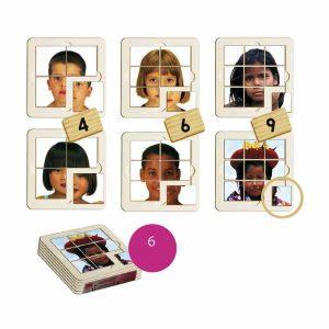 Copii din lume - puzzle