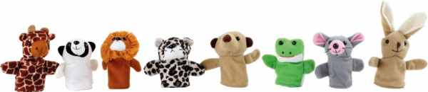 Marionete pentru Degete Animale 3