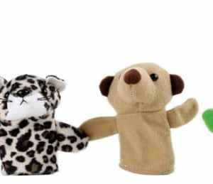 Marionete pentru Degete Animale 4