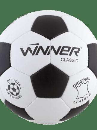 Minge fotbal din piele naturala Classic