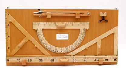 Instrumente pentru tabla pe suport - lemn