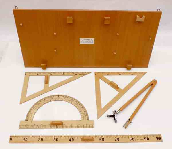 Instrumente pentru tabla pe suport - lemn 6
