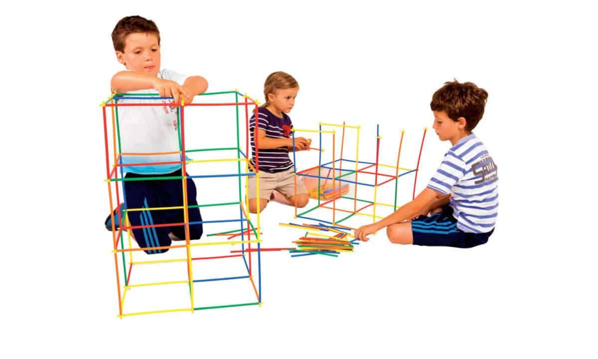 Set Constructii din Paie Flexibile
