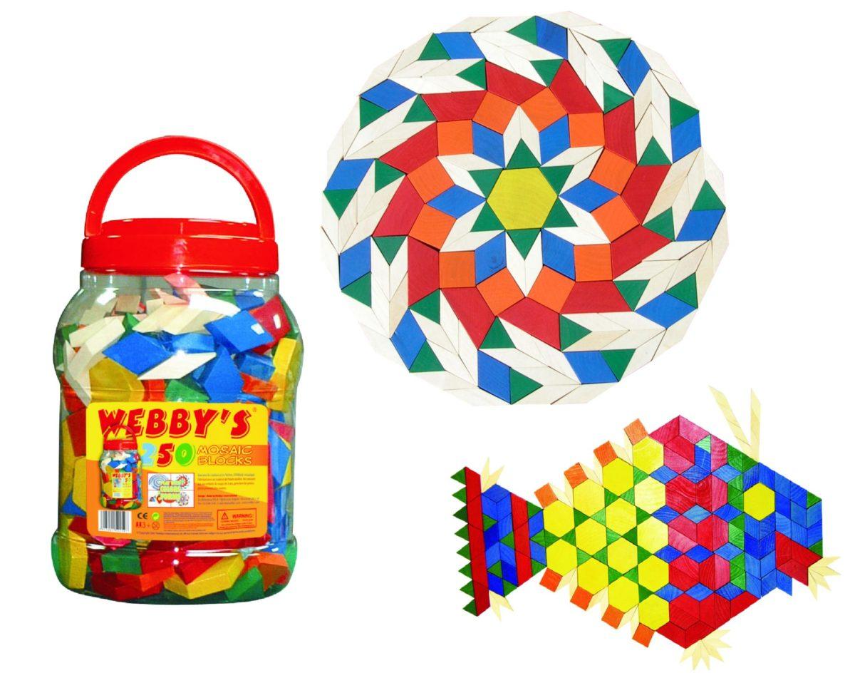Mozaic forme geometrice