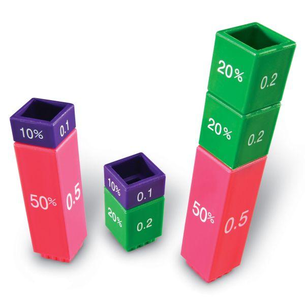 Turnul fractiilor - fractii, zecimale si procente 4