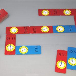 Joc domino, Cat e ceasul ? 10