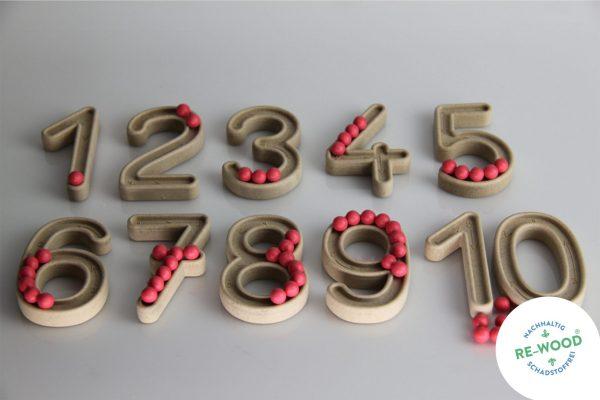 Set trasare cifre cu bilute 6
