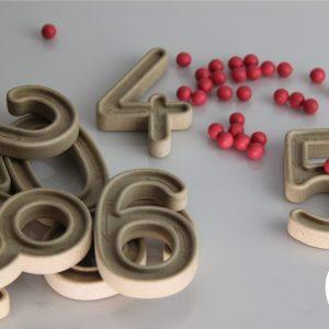Set trasare cifre cu bilute 17
